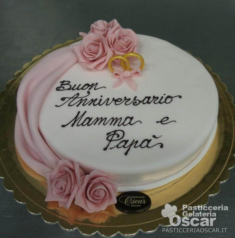Torte Per Anniversario Matrimonio.An 003 Torta Per Anniversario Oscar