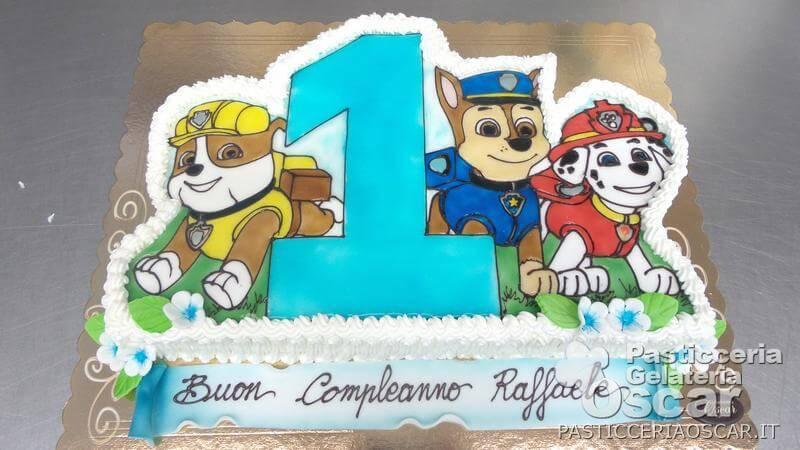 CO1 024 – Torta Paw Patrol compleanno | oscar