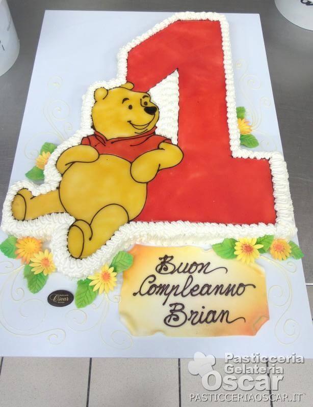 Co1 030 Torta Winnie Pooh Compleanno Oscar