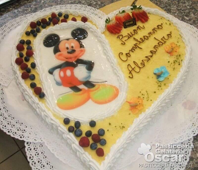 Co2 10 045 torta topolino compleanno oscar - Colorazione pagina della torta di compleanno ...