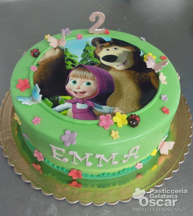 Co2 10 123 Torta Masha E Orso Compleanno Oscar