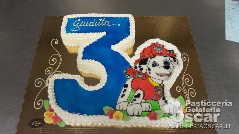 CO2 10 138 – Torta Paw Patrol compleanno | oscar