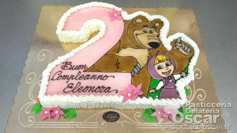 Co2 10 176 Torta Masha E Orso Compleanno Oscar