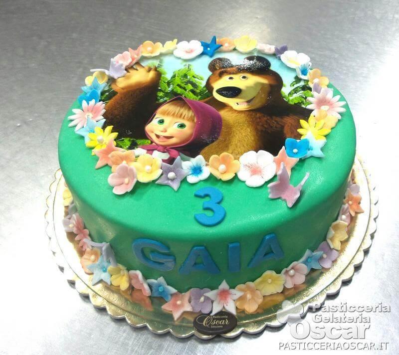 Co2 10 218 Torta Masha E Orso Compleanno Oscar