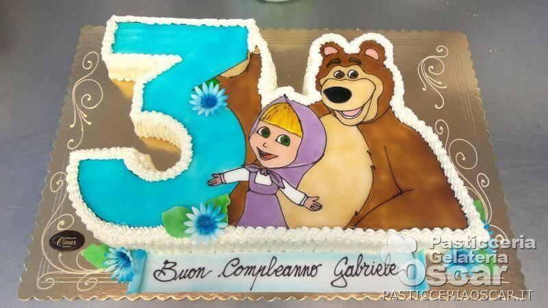 Co2 10 254 Torta Masha E Orso Compleanno Oscar