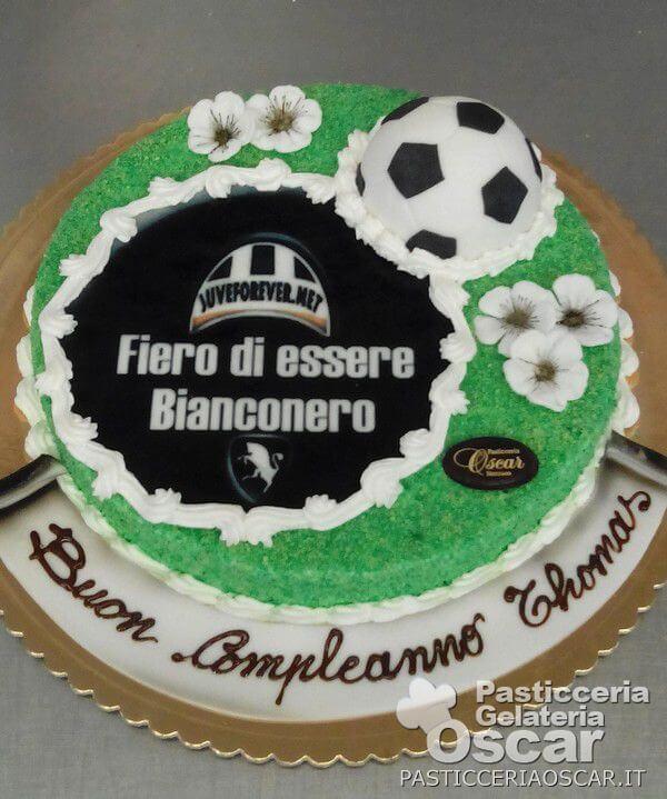 Cos 030 Torta Juventus Compleanno Oscar