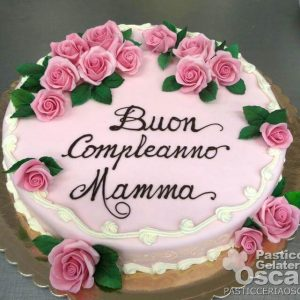 Torta Compleanno Per Mamma.Festa Della Mamma